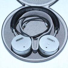 GORGEOUS BOHM B66 Wireless Headphones Silver Bluetooth On Ear Noise Cancellation