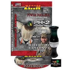 NEW ZINK CALLS PH-2 POWER HEN MALLARD GREEN POLY DOUBLE REED HEN DUCK CALL & DVD