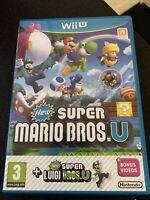 NEW Super Mario Bros U + Super Luigi U Nintendo Wii U