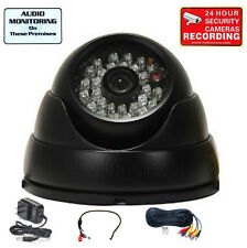 "Security Camera w/ 1/3"" SONY CCD IR Day Night Wide Angle CCTV Surveillance mj6"