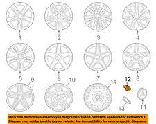 MERCEDES OEM 12-15 ML350 Wheel-Wheel Lug Bolt 0009907607