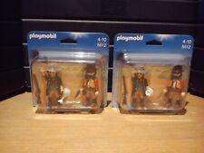 Playmobil 5512 lot de 2 Duo Pack Shérif et bandit  (Neuf & Scellé)