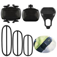 Bike Speed and Cadence Sensor Wireless Set Support for Garmin 1000 810 520 500