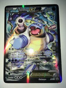 Tortank EX  pv180  xy122  carte pokemon