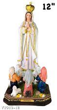 """Fatima 12"""" Inch Statue Brand New Religious Figure Our Lady Of Fatima"""