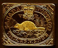 2001 CANADA 3 PENCE 1851 BEAVER TOKEN