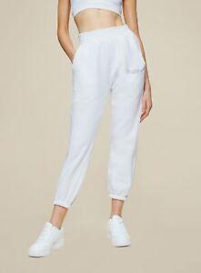 HIIT Sportswear Women Signature White Joggers Sports Gym Pants Sweatpants