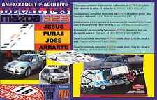 ANEXO DECAL 1/43 MAZDA 323 GTX JESUS PURAS RALLYE MONTECARLO 1991 (05)
