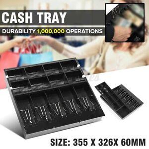 5 Bills/8Coins Cash Money Drawer Register Insert Tray Replacement Storage Cashie