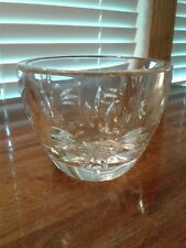 """Marquis By Waterford Heavy Crystal 4 1/2"""" Bowl Label & Etched Very Good Conditio"""