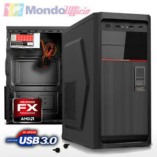 PC Computer Desktop AMD FX 4300 3,80 Ghz Quad Core - Ram 4 GB DDR3 - USB 3.0