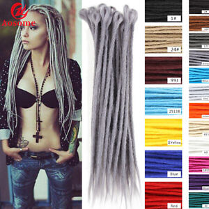 5pcs 20inch 50cm Crochet Dreadlocks Hair Extensions Synthetic Dreads Braids Locs