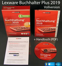 Lexware Buchhalter Plus 2019 Vollversion Box + CD, Handbuch PDF, Updates OVP NEU
