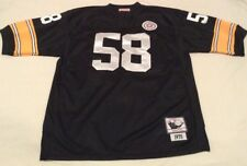 NFL 1975 Jack Lambert Pittsburgh Steelers #58 Mitchell & Ness Throwback Jersey