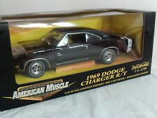 ERTL AMERICAN MUSCLE 1969 DODGE CHARGER R/T  1/18 DIE CAST --  NIB LIMITED