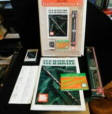 Clarke Tin Whistle with Mel Bay's Kit Song Book + Tape