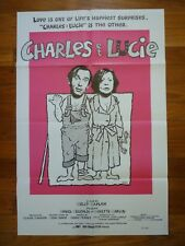 CHARLES ET LUCIE Original 1980 American One Sheet Movie Poster
