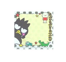 Pretty Sanrio Bad-Badtz Maru 30 Sheets Notepad/Memo Pad/Cute Note #A