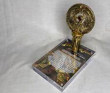 Indiana Jones ra Casco, Oro Antiguo, metal, joya rojo, Soporte de personal, Placa