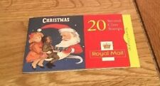 Royal Mail Stamp Booklet With Greeting Labels Father Christmas Moon