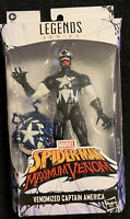 "Marvel Legends VENOMIZED CAPTAIN AMERICA 6"" Action Figure Walmart Exclusive New"