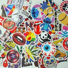 100 x Aufkleber Doodle Retro Sticker Set Sponsoren Auto Stickerbomb Laptop Handy