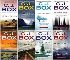 Joe Pickett Series Collection Set Books 1-8 Mass Market Paperback C J Box New
