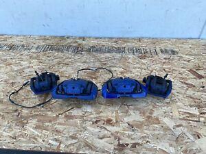 FRONT REAR BRAKE CALIPER PADS SET BLUE BMW 535I 550I 650I F10 (2011-2016) OEM