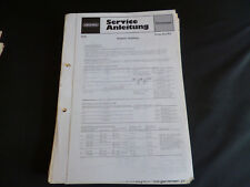 Original Service Manual Grundig Prima Boy 700