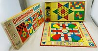 1968 Combination Game by Milton Bradley Complete in Great Condition FREE SHIP