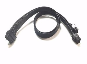 PSU 12Pin to Dual 8Pin(6+2) PCI-E Modular Power Cable for Seasonic X & P series
