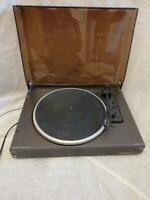 TEAM 6041P  DE LUXE TURNTABLE BY SCHNEIDER / DUAL SPINNING WELL
