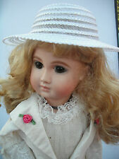 SUNDAY DOLLS HAT TWO SIZES AVAILABLE IN WHITE