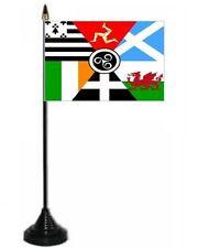 Pan Celtic Desk Table Top Flag