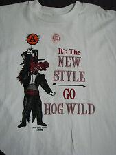 U of A Razorback Official ©1992 L T-shirt ~ Arkansas - UNWORN, UNWASHED! UofA