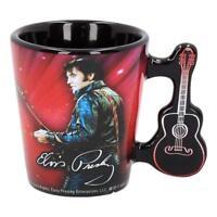 Elvis Espresso Cup - Elvis Presley Design Ceramic Collectible Mug Guitar Music
