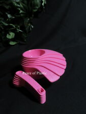 Tupperware New PINK New Design Measuring Cups & Spoons Set Free Ship!