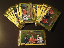 2001 Prism NHL Hockey Trading Cards - Mc Donalds Promo 13x Un-Open Packs