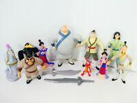 "Disney's Mulan Princess Yao & Ling Fully Poseable 5"" Figures Mattel 1998 Lot"
