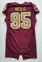 #95 Chris Neild of the Washington Redskins NFL Alternate Game Issued Jersey