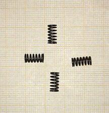 4 x Druckfeder, Länge 9,5mm, Außen Ø4,63mm, Drahtstärke 0,63mm