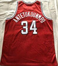 Giannis Antetokounmpo Bucks authentic Adidas 2013 2014 ROOKIE game model jersey