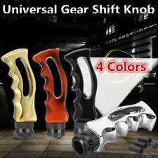 Universal Metal Car Manual Gear Stick Shift Knob Skull Wave Shifter Lever & Hose