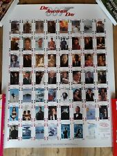 CARTA MUNDI JAMES BOND 007 DIE ANOTHER DAY PLAYING CARD POSTERS MINT CONDITION