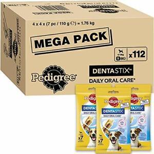 Pedigree Dentastix - Daily Dental Care Chews For a Small Dog Treats 112 Sticks