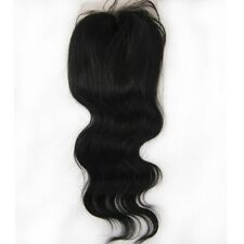 Lace Closure Top Closure 100% Brazilian Virgin Human Hair Bodywave Weave 4x4''