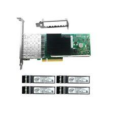 Intel 10Gbps PCI-e(3.0) x8 X710-DA4 Ethernet Server Adapter & Intel 850nm Module