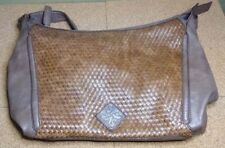 SIMPLY VERA VERA WANG ~ Women's Brown FAUX LEATHER Hand & Shoulder Bag Purse