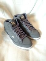 LONSDALE Women's Grey High Top Trainers / Boots Size UK 5, EU 38, US 6