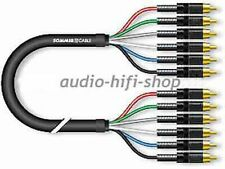 1,5m Sommer Cable High-end SACD/DVD-Audio 5.1 Kabel mit Neutrik Cinchsteckern
